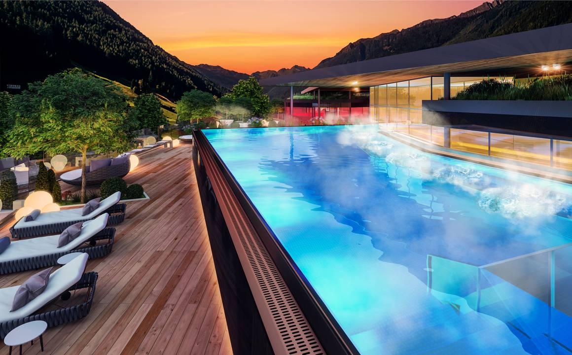 Hotel in valle aurina amonti lunaris wellnessresort - Hotel valle aurina con piscina ...