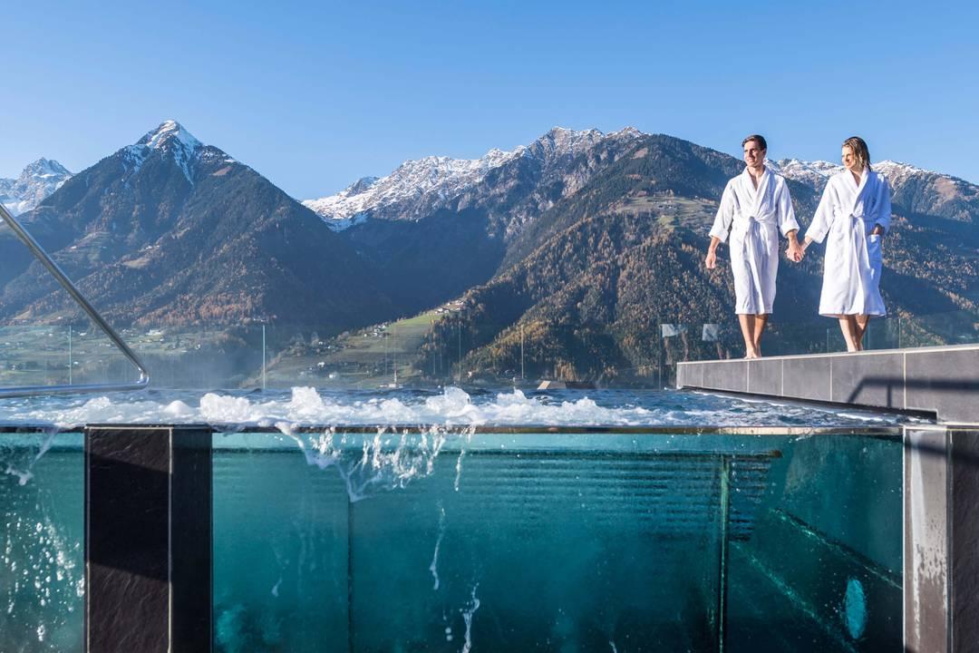 Wellnesshotels in s dtirol der extraklasse for Design wellnesshotel sudtirol